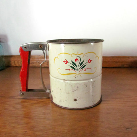 Vintage Androck Hand - i - Sift Dual Screen Sifter
