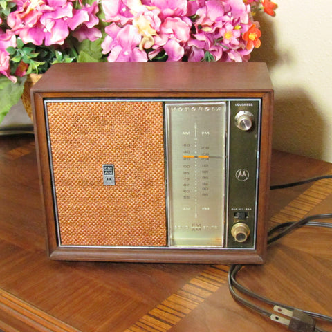 Motorola Vintage 1960s Solid State Radio - Attic and Barn Treasures