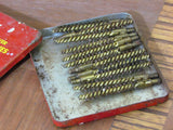 Outers .22 Cal Vintage Cleaning Brushes in Metal Tin - Attic and Barn Treasures