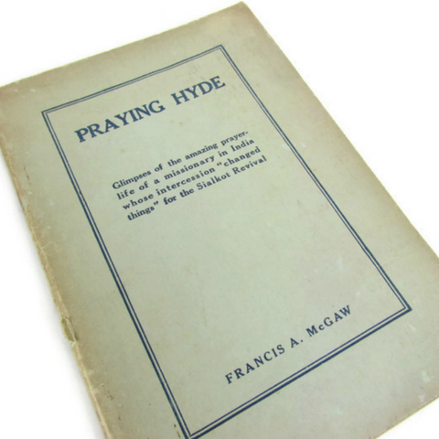 1923 Praying Hyde by Francis McGaw - Attic and Barn Treasures