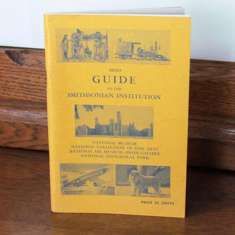 Vintage 1961 Guide to the Smithsonian Institute Booklet - Attic and Barn Treasures