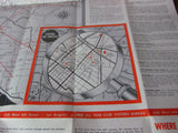 1960 Sightseeing Map of Southern California - Attic and Barn Treasures