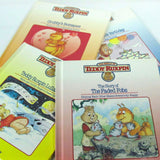 Vintage Teddy Ruxpin Story Books Set of 4 circa 1985 - Attic and Barn Treasures
