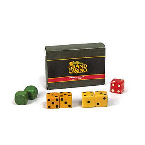 Dice Lot Casino Soap Vintage Gaming Gift