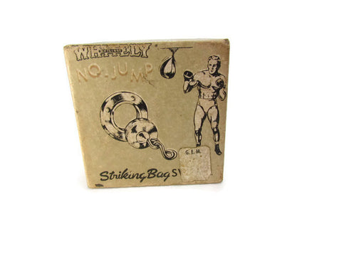 Vintage Whitely Striking Bag Swivel Box Only 1940s - Attic and Barn Treasures