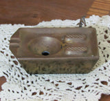 Unusual Vintage Kitchen Sink Brass Ashtray - Attic and Barn Treasures