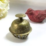 Vintage Elephant Ox Brass Claw Festival Bell - Attic and Barn Treasures