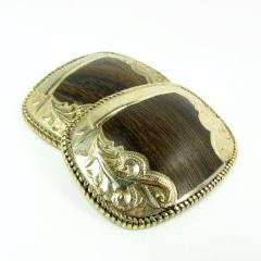 Gold Tone Vintage Cowboy Belt Buckle Blanks c. 1970s - Attic and Barn Treasures
