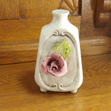 Vintage Capodimonte Pottery Rose Bud Vase - Attic and Barn Treasures