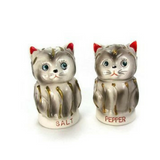 Vintage Tilso Cat Salt and Pepper Shakers - Attic and Barn Treasures