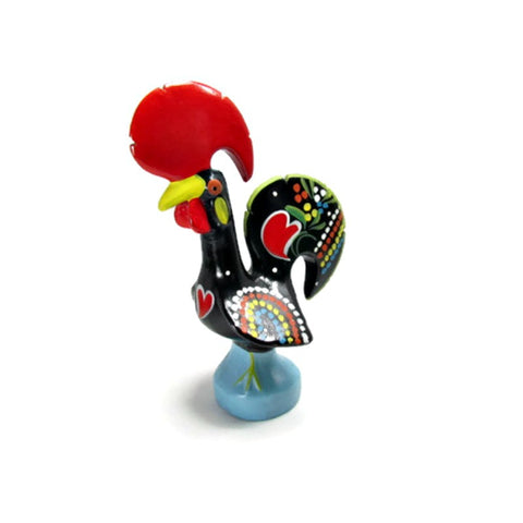 Vintage Colorful Good Luck Rooster made in Portugal - Attic and Barn Treasures