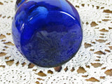 Cobalt Blue Vintage Bulb Forcing Vase - Attic and Barn Treasures