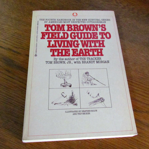 1984 Vintage Tom Brown's Field Guide to Living With The Earth - Attic and Barn Treasures