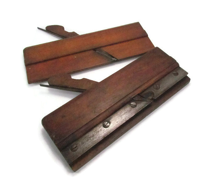 Antique Hand Crafted Wood Working Molding Planes - Attic and Barn Treasures