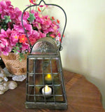 Metal Vintage Hanging Candle Lantern - Attic and Barn Treasures