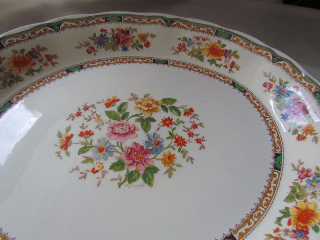 Grindley England Creampetal Vintage Platter - Attic and Barn Treasures