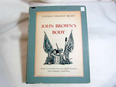 Vintage Hardcover Book John Brown's Body by Stephen Vincent Benet - Attic and Barn Treasures