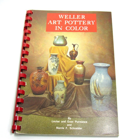 Vintage 1971 Weller Art Pottery Book. - Attic and Barn Treasures