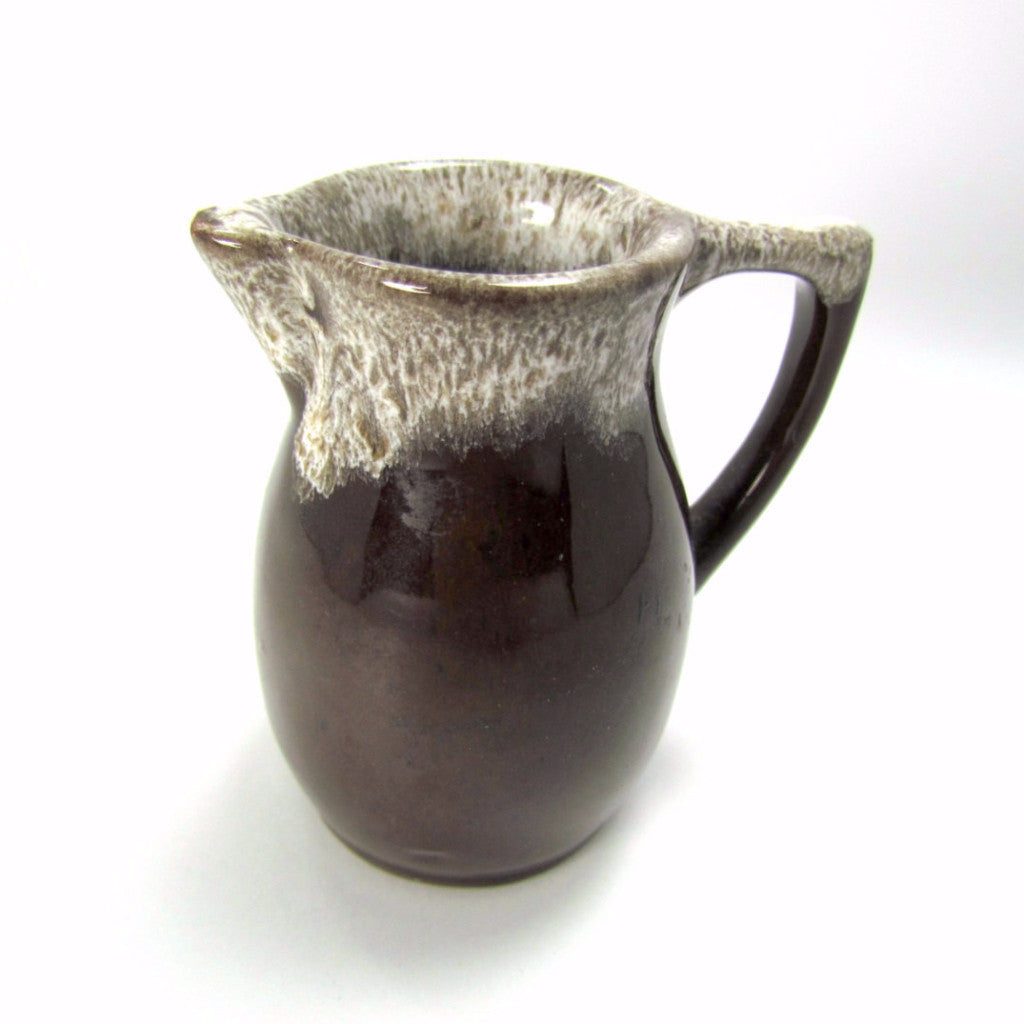Vintage Brown Drip Miniature Pitcher - Attic and Barn Treasures