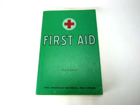 1957 Vintage First Aid Book - Attic and Barn Treasures