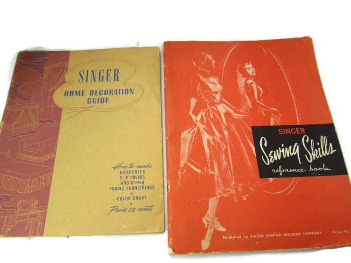 Singer Vintage Sewing Skills and Guide Books - Attic and Barn Treasures