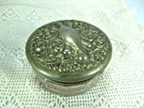 Art Deco Vintage Powder Jar Dresser Accessory - Attic and Barn Treasures