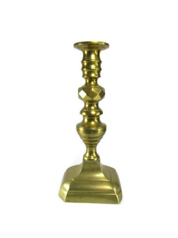 Vintage Brass Push Up Candlestick - Attic and Barn Treasures
