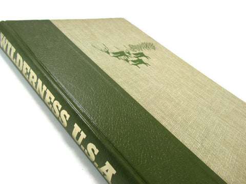 Vintage Wilderness USA National Geographic Book - Attic and Barn Treasures
