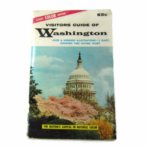1962 Visitors Guide Of Washington Pamphlet - Attic and Barn Treasures