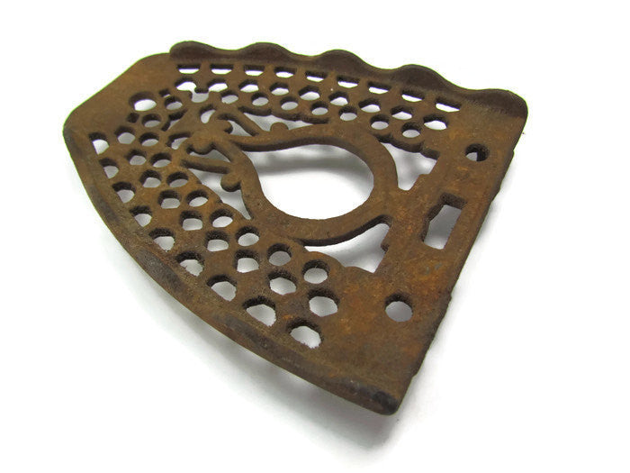 Vintage Rustic Antique Cast Iron Trivet for Iron by Brighton - Attic and Barn Treasures