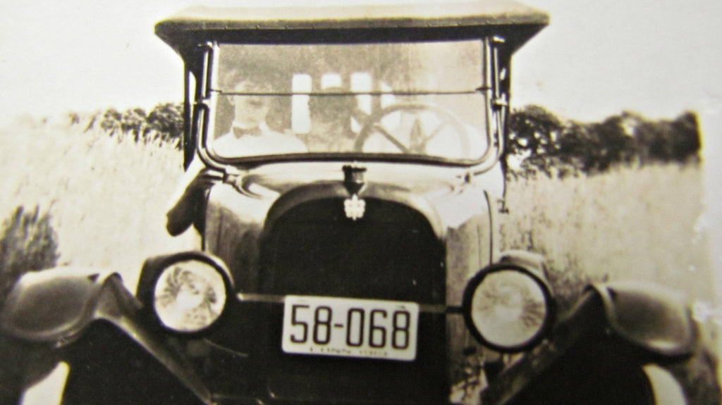 Off Road! Antique Car Photograph - Attic and Barn Treasures