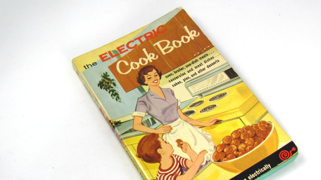 Vintage 1960 The Electric Cook Book Cookbook - Attic and Barn Treasures