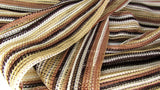Vintage Stripe Belt Narrow Scarf Boho Gypsy Style - Attic and Barn Treasures