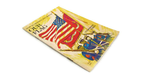 US Marines How to Display and Respect Our Flag Vintage Booklet - Attic and Barn Treasures