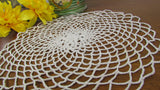 Vintage Round Crochet Doily Flower and Lace Pattern - Attic and Barn Treasures