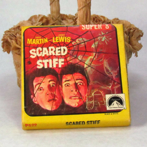 Scared Stiff Martin Lewis Paramount Pictures Movie Vintage Black and White - Attic and Barn Treasures