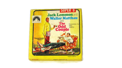 Original Odd Couple Movie Lemmon Matthau Super 8 Reel Film Vintage - Attic and Barn Treasures