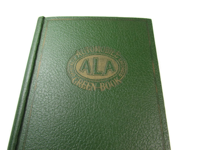 Vintage ALA Automobile Green Book Complete with Maps - Attic and Barn Treasures