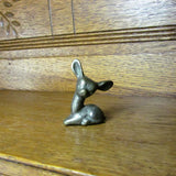 Vintage Miniature Brass Fawn - Attic and Barn Treasures