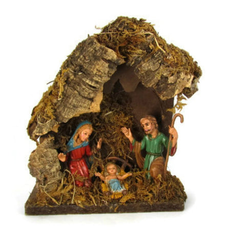 Vintage Manger Nativity Scene Italian Creche - Attic and Barn Treasures