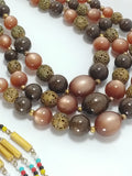 Three Vintage Necklaces for DIY Stone Metal Glass Beads - Attic and Barn Treasures