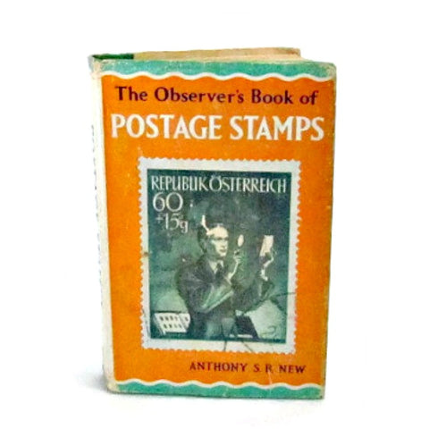 1967 Vintage Observers Book of Postage Stamps - Attic and Barn Treasures