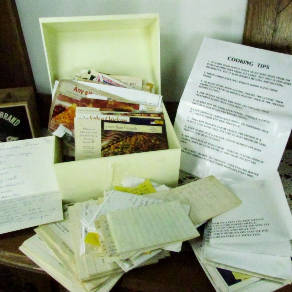 Vintage Recipe Collection Huge Assortment Hand Written and Clippings - Attic and Barn Treasures