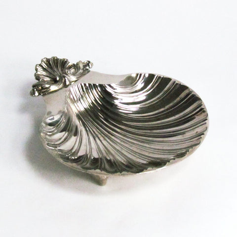 Vintage Silverplate Clam Shell Dish Sheffield England Repro - Attic and Barn Treasures