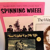 Vintage Sheet Music - 3 piece lot 1970s - Attic and Barn Treasures