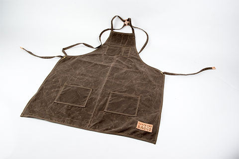 The Waxed Canvas Apron