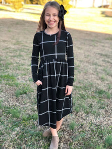 Mommy & Me Plaid Dress
