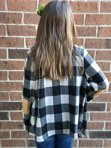 Mommy & Me Plaid Cardigan