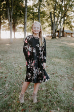 Load image into Gallery viewer, Chloe Dress in black for tweens