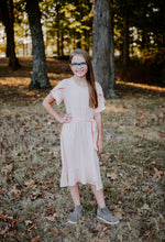 Load image into Gallery viewer, Tulip Dress in Blush for tweens